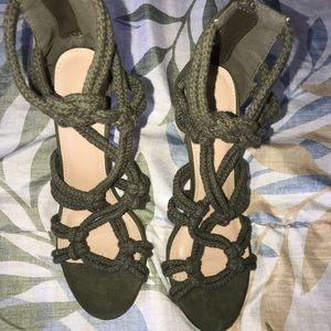 Rope designed heels